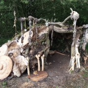 Grendals  mothers lair at west stow anglo saxon village