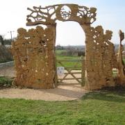 Playground gateway - Hitcham